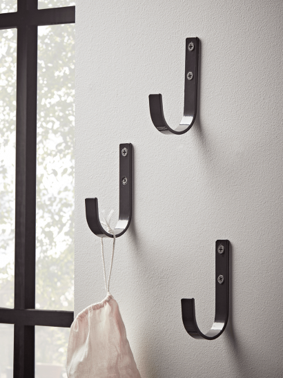 NEW Three Industrial Style Hooks