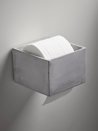 NEW Cement Loo Roll Holder