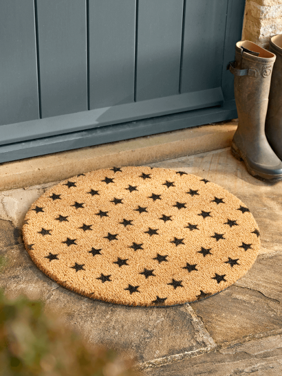 NEW Mini Stars Circle Doormat