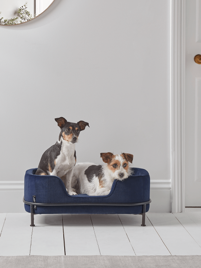 NEW Industrial Style Pet Bed - Navy