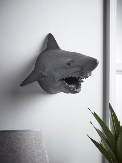 NEW Wall Mounted Shark Head