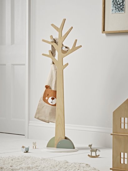 NEW Woodland Friends Coat Stand