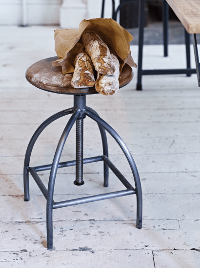 Industrial Twist Stool