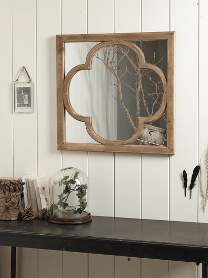 Tunis Wooden Mirror