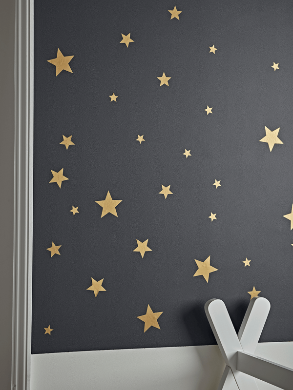 Gold Star Wall Stickers, Chandelier Wall Decal Target