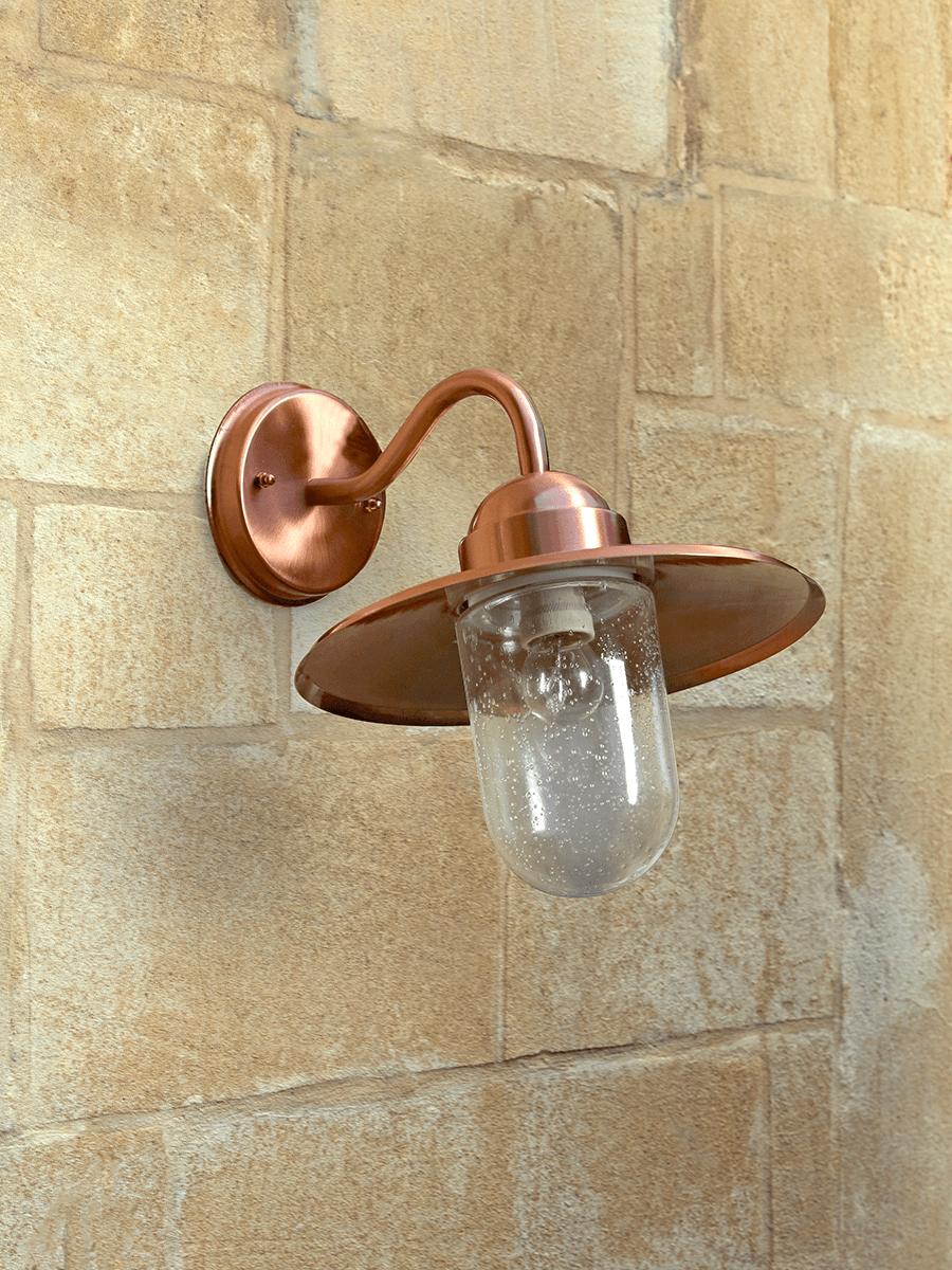 NEW Copper Swan Neck Light