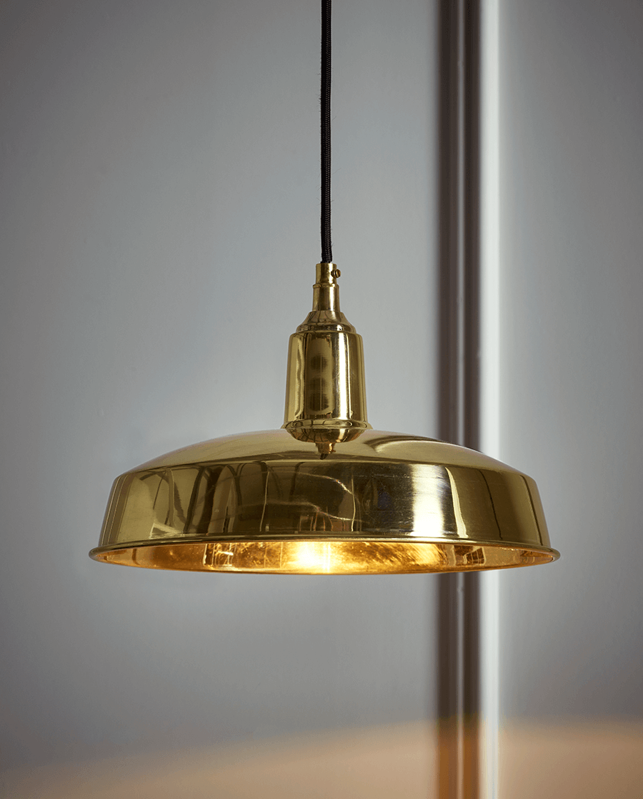 NEW Brass Industrial Pendant