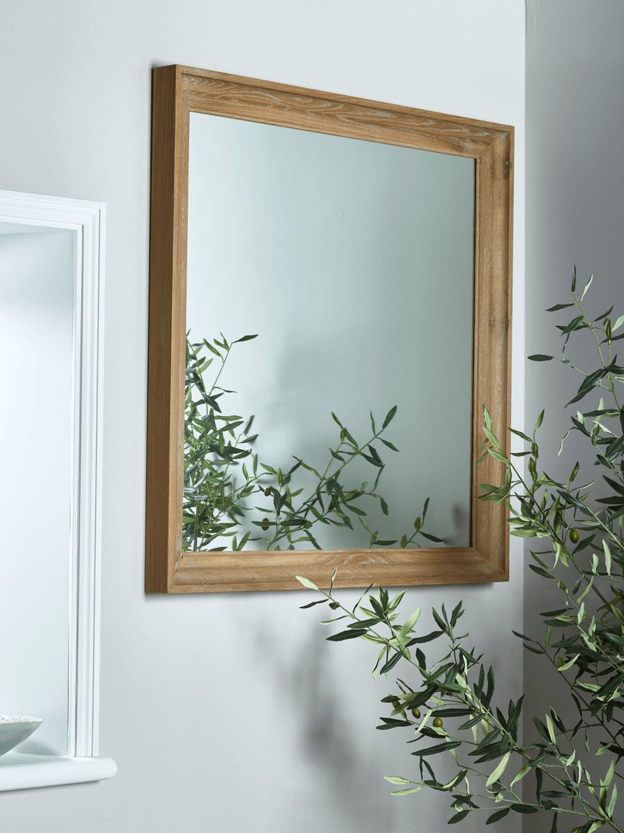 NEW Ember Oak Mirror