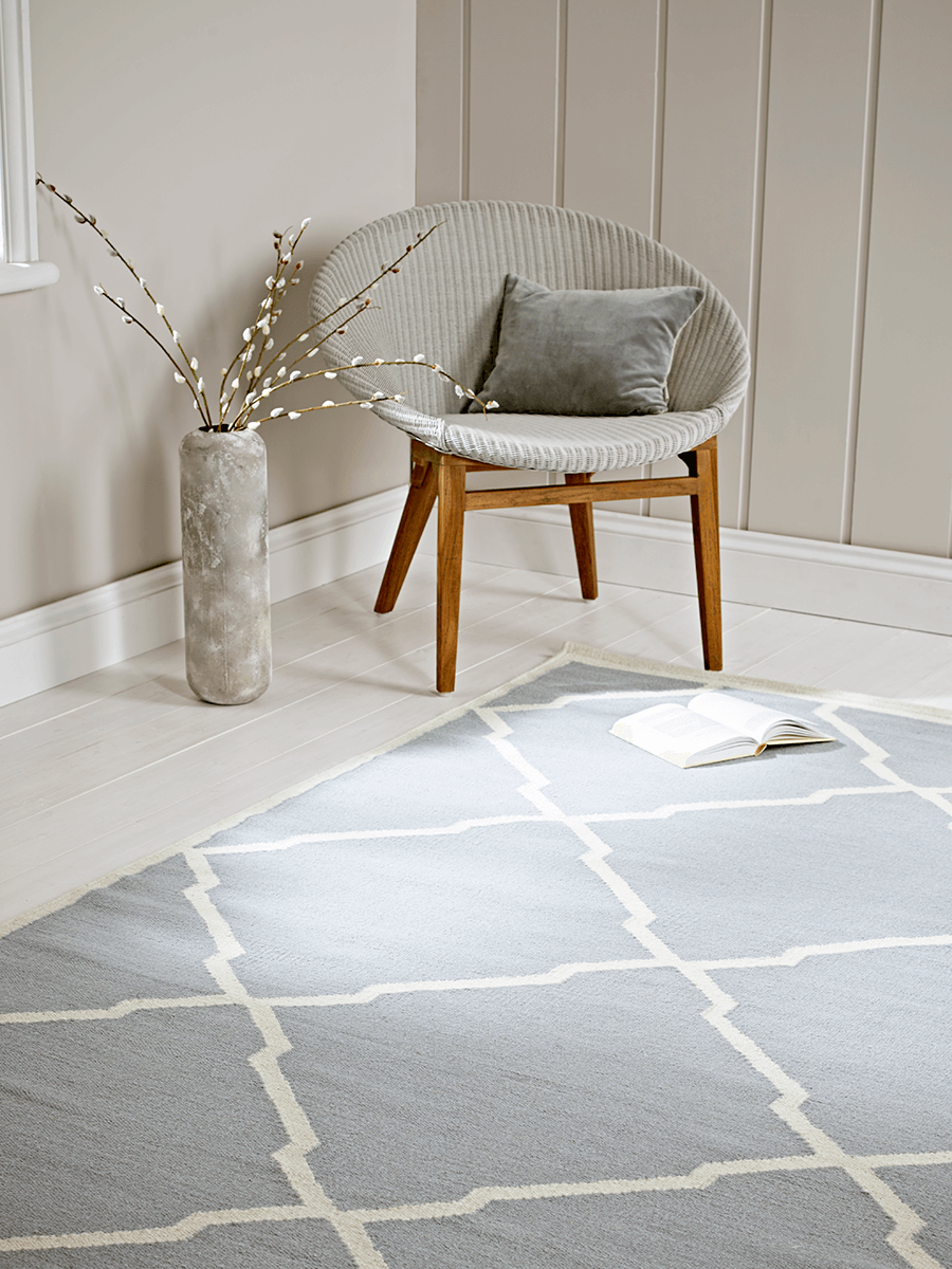 Fayha Rug - Soft Blue