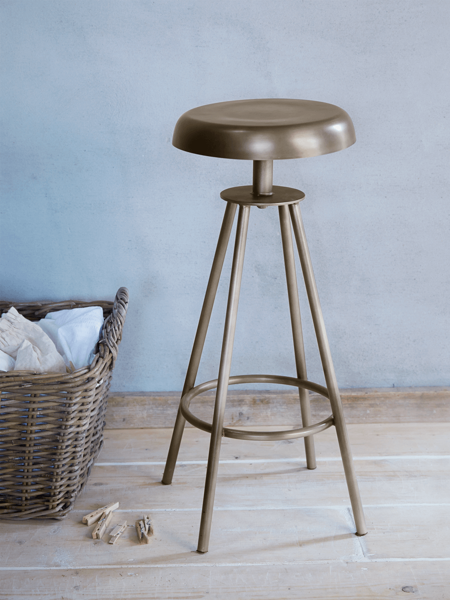 Swivel Stool - Zinc
