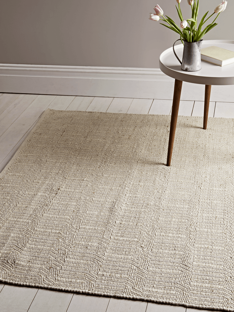 NEW Loop Woven Rug - Natural