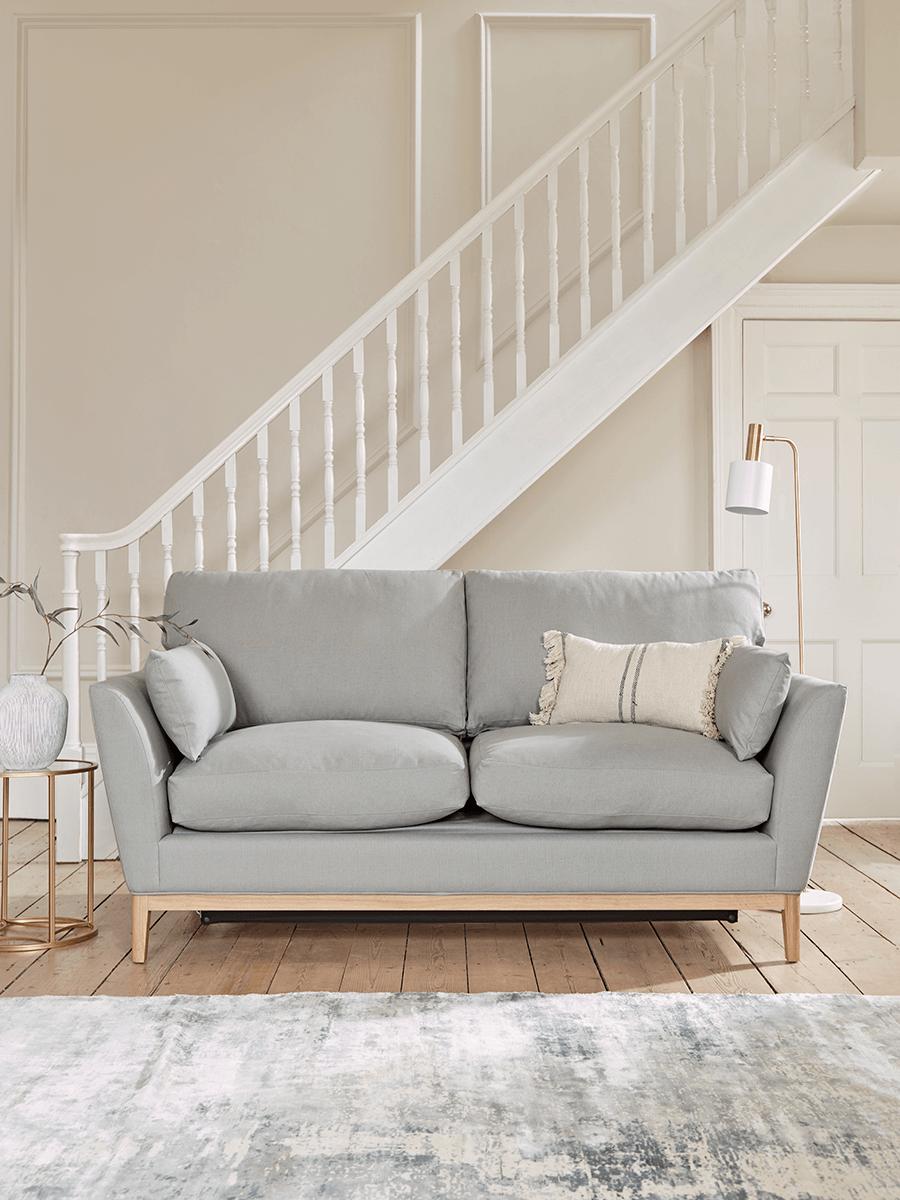 The Nordic Sofa Bed - Flint Linen Cotton Blend