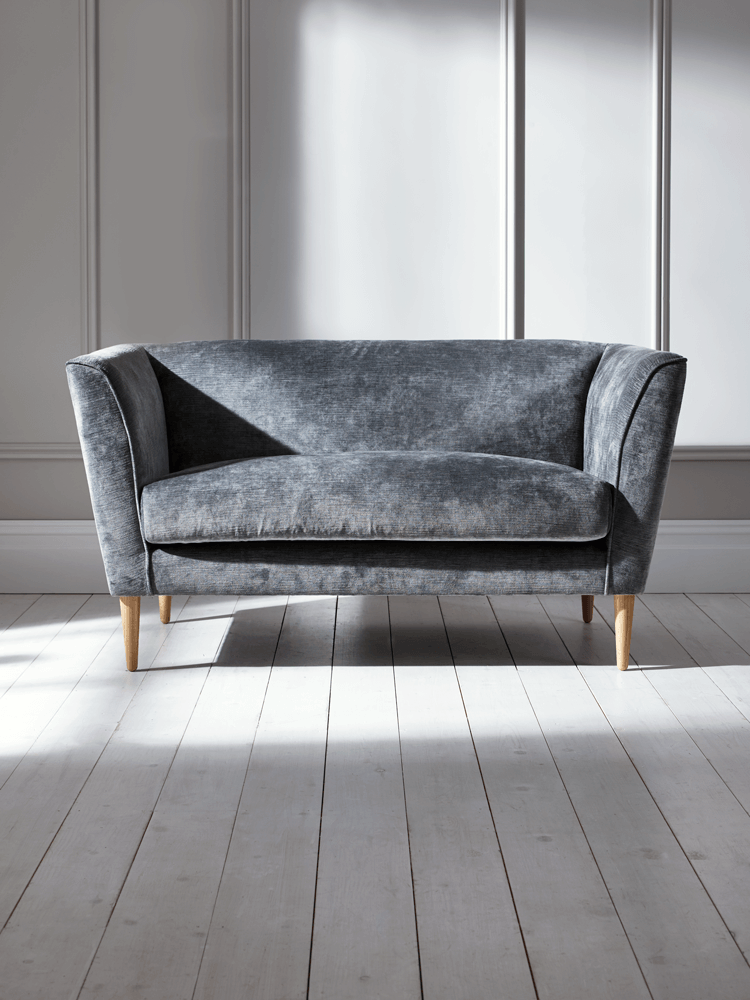 NEW Timsbury Velvet Sofa - Grey