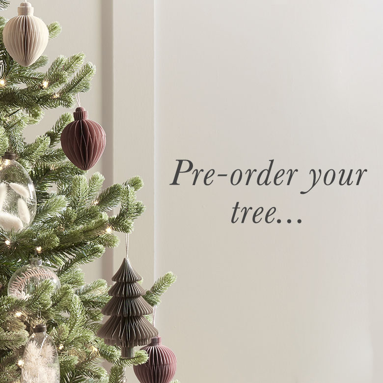 Pre-order your tree
