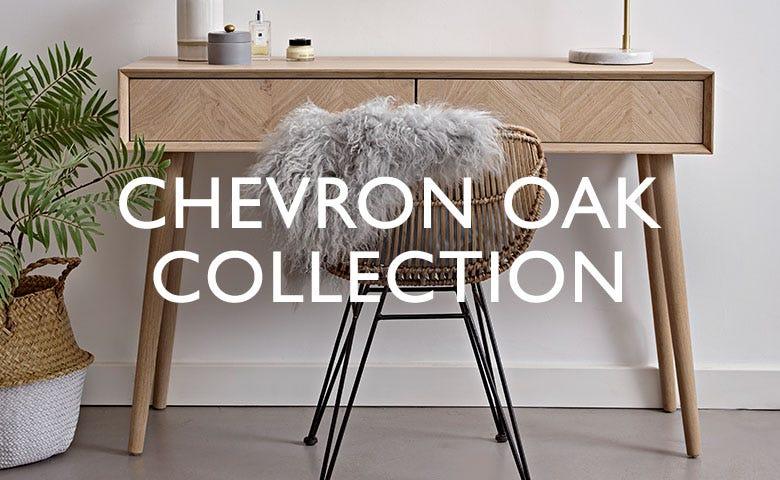 Chevron Oak Collection
