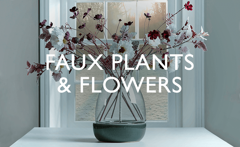 Faux Plants & Flowers