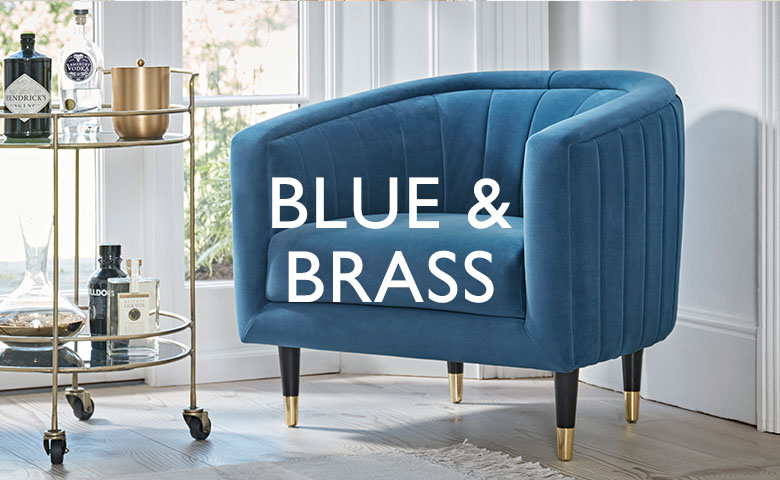 Blue and Brass