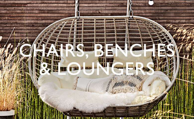 Chairs, Benches and Loungers