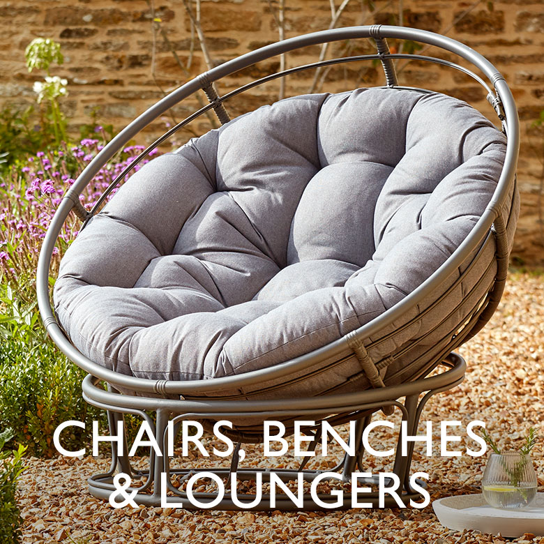 Chairs, Benches & Loungers