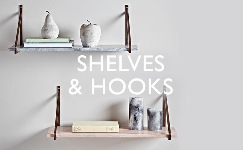 Shelves and Hooks
