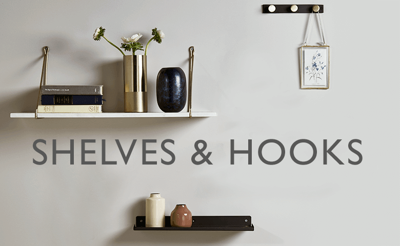 Shelves and Hooks