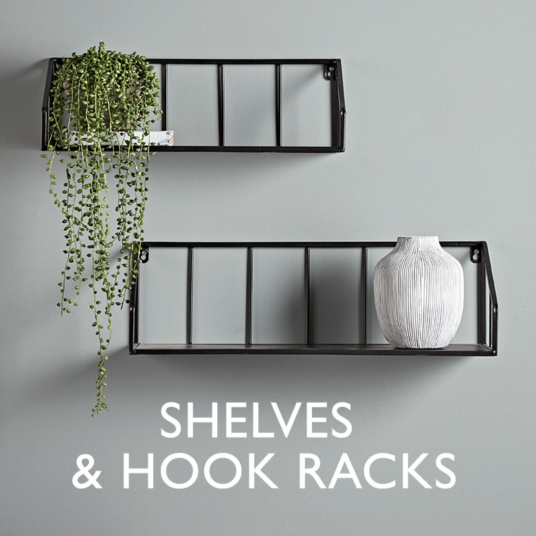 Shelves and Hook Racks