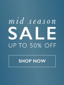 Mid Season Sale - Save Up To 50 Percent