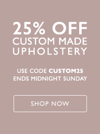 25 Percent Off Custom Made Upholstery