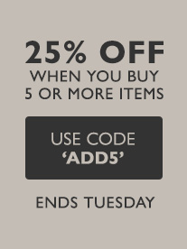 Up to 25 percent off