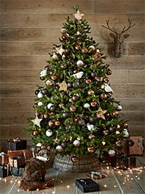 Copper Woodland Christmas