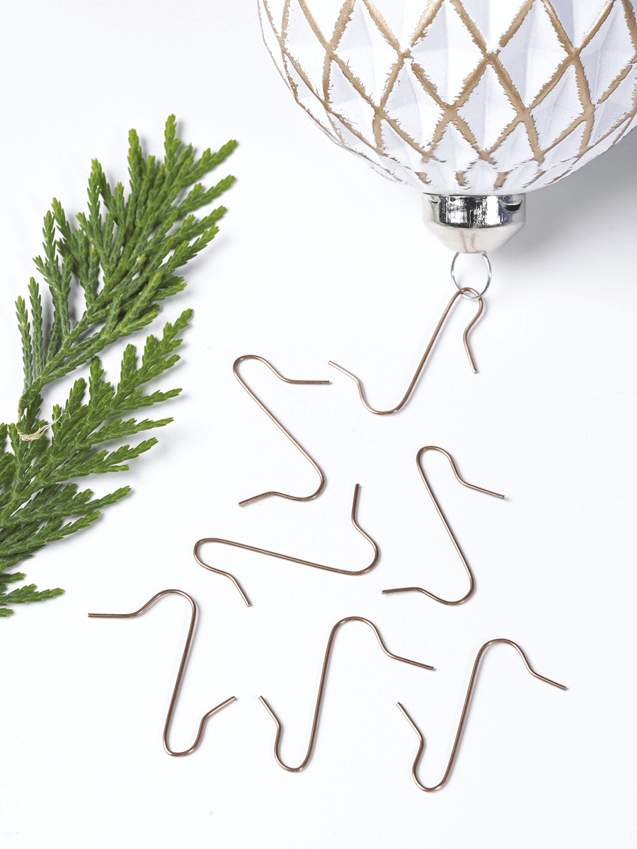Image of 100 Bauble Hooks Copper